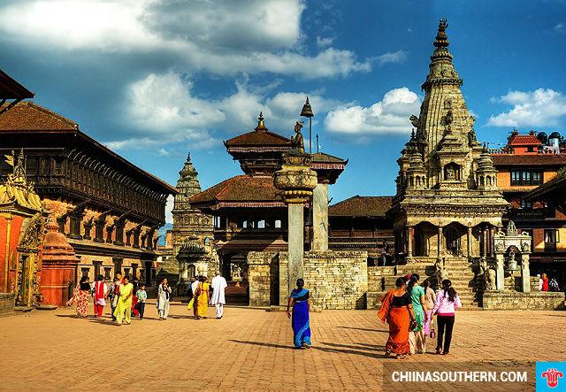 ve may bay gia re di kathmandu