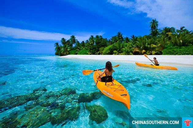 mua ve may bay di maldives