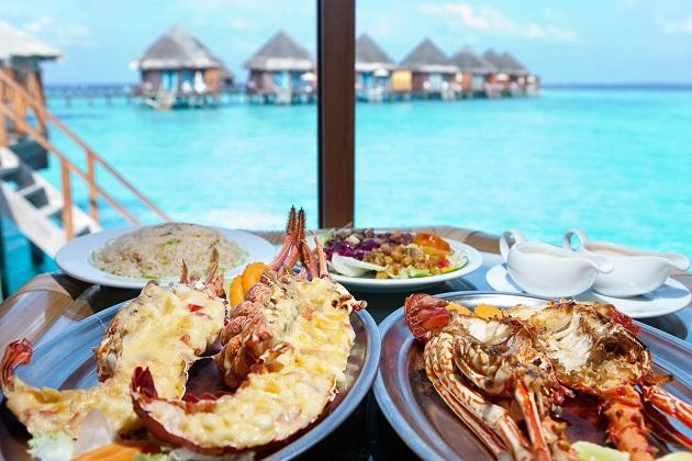 Khám phá ẩm thực độc đáo tại thiên đường biển đảo Maldives
