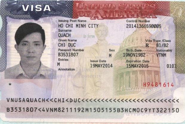 Thông tin visa du lịch Mỹ
