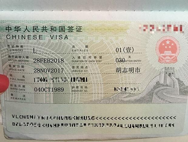 Xin visa Trung Quốc, hồ sơ cần những gì?