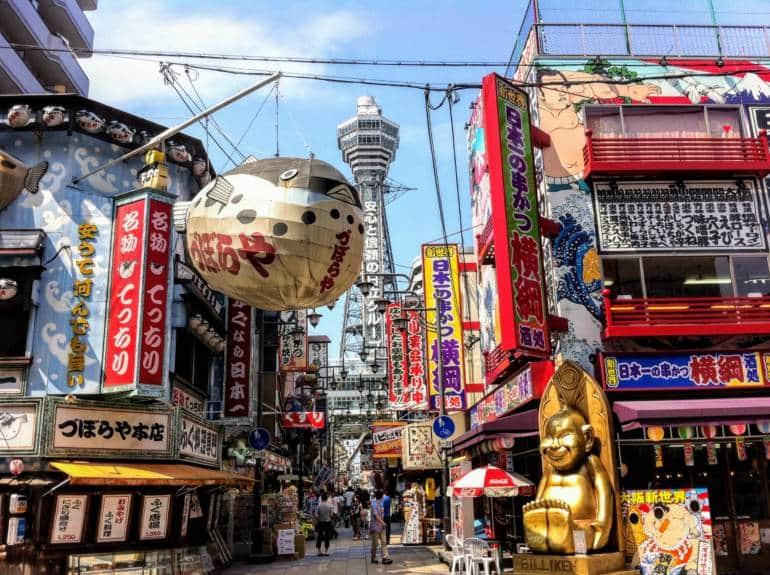 Đi Osaka